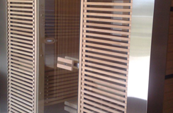 Bio-sauna set-up mod. Rubic (Merano - BZ)