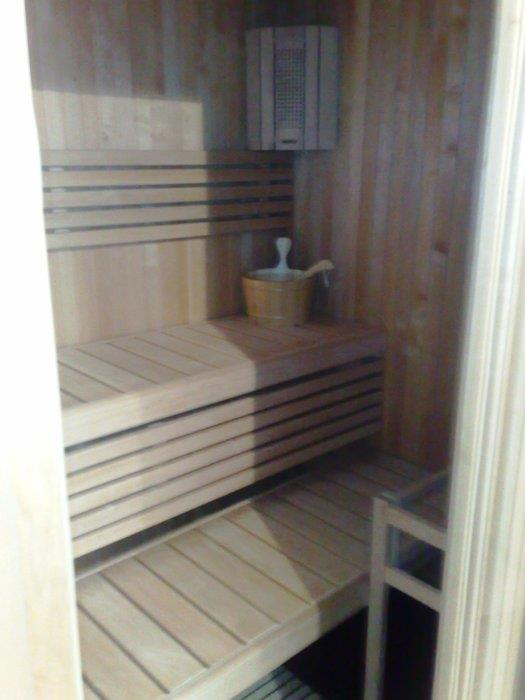 Set-up of Variant sauna in office's direction in a company (Piove di Sacco - Padova - Italy)