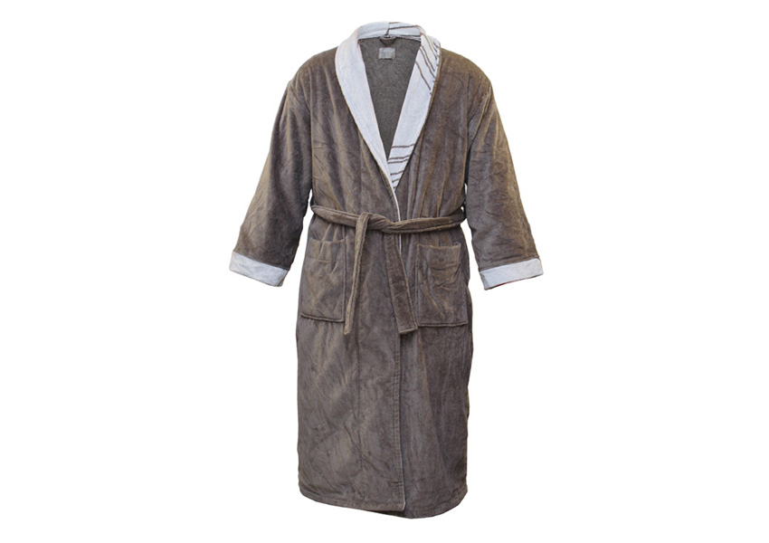 Sauna bathrobe