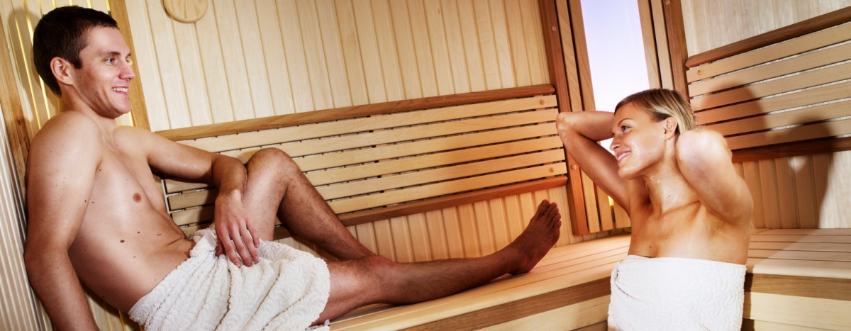 SAUNA CUSTOMIZATION . . .