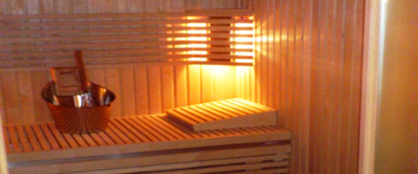 Set-up of a little bio-sauna (Almese - Torino - Italy)